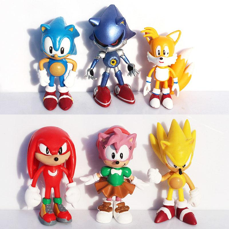 2020 High Quality X Sega Sonic The Hedgehog Collection Action Movie Figures Model 2 5 Inch 6cm Toy Pvc Toy Characters Brinquedos Doll From Daisy2019 6 09 Dhgate Com