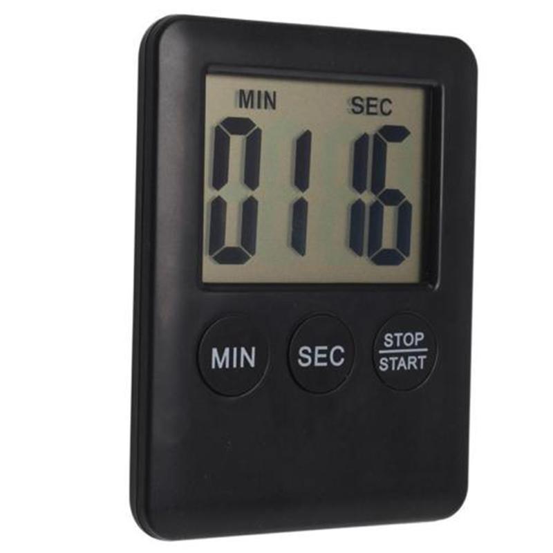 MAGNETIC DIGITAL LCD ZEITSCHALTUHR COUNT UP DOWN EGG Kochs Kühlschrank BEEP Schlaf Stoppuhr temporizador digital cozinha