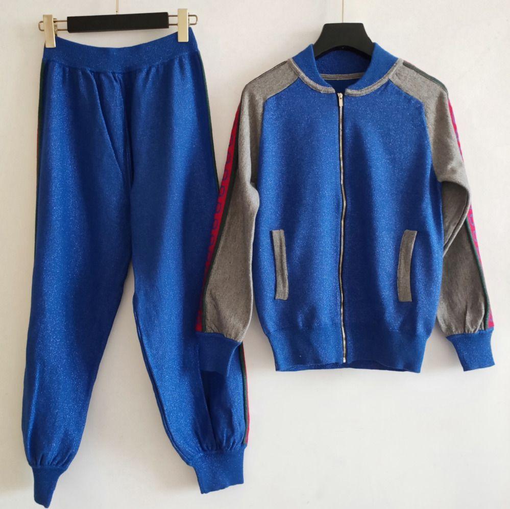copre il vestito Abbigliamento Donna Moda Maniche lunghe Imposta pantaloni sportivi