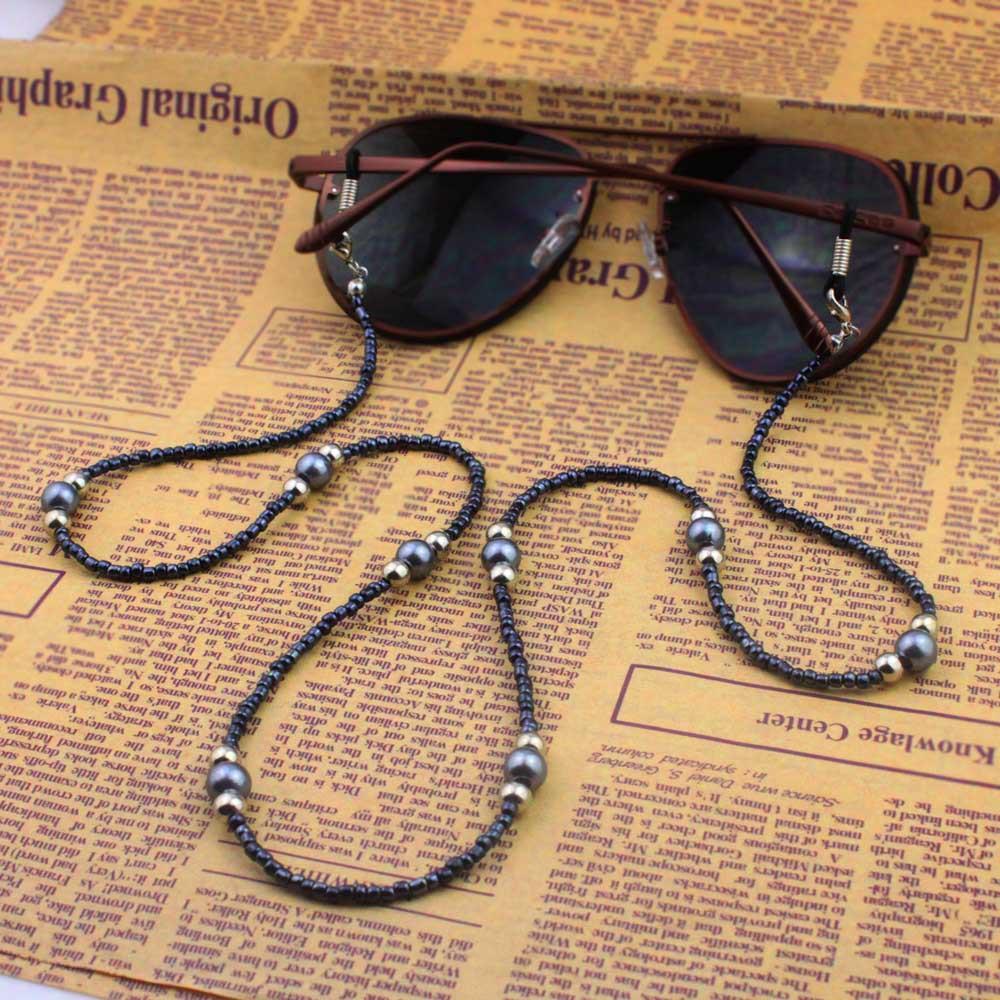 Homens Mulheres alta qualidade frisada Ametista Óculos eyewears óculos de leitura olho Óculos Cadeia Cord Titular Corda alça de pescoço