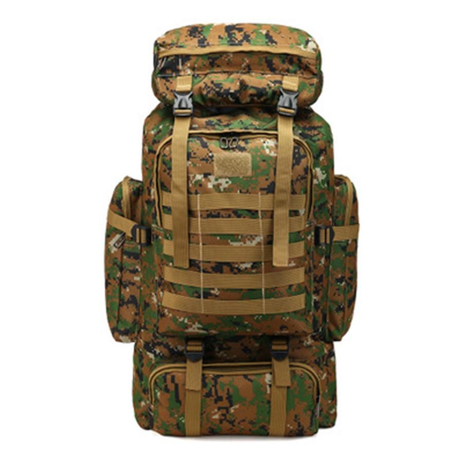 Тактический рюкзак сумка рюкзак нападение пакет слинг рюкзак армии Molle водонепроницаемый Edc рюкзака мешок для Открытый Туризм Отдых на природе Охота 80L # 919