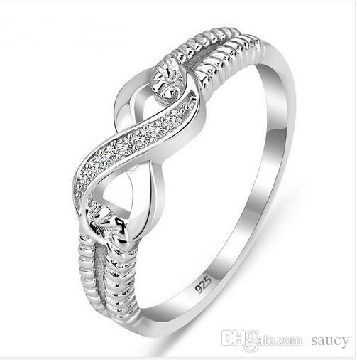 Wholesale Genuine 925 Sterling Silver Jewelry Designer Brand Rings