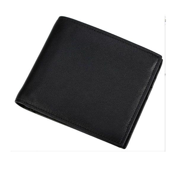 남성을위한 하이 엔드 정품 가죽 Bifold Mens 짧은 지갑 톱 그레이드 Nappa Leather Pocket Hand Purse