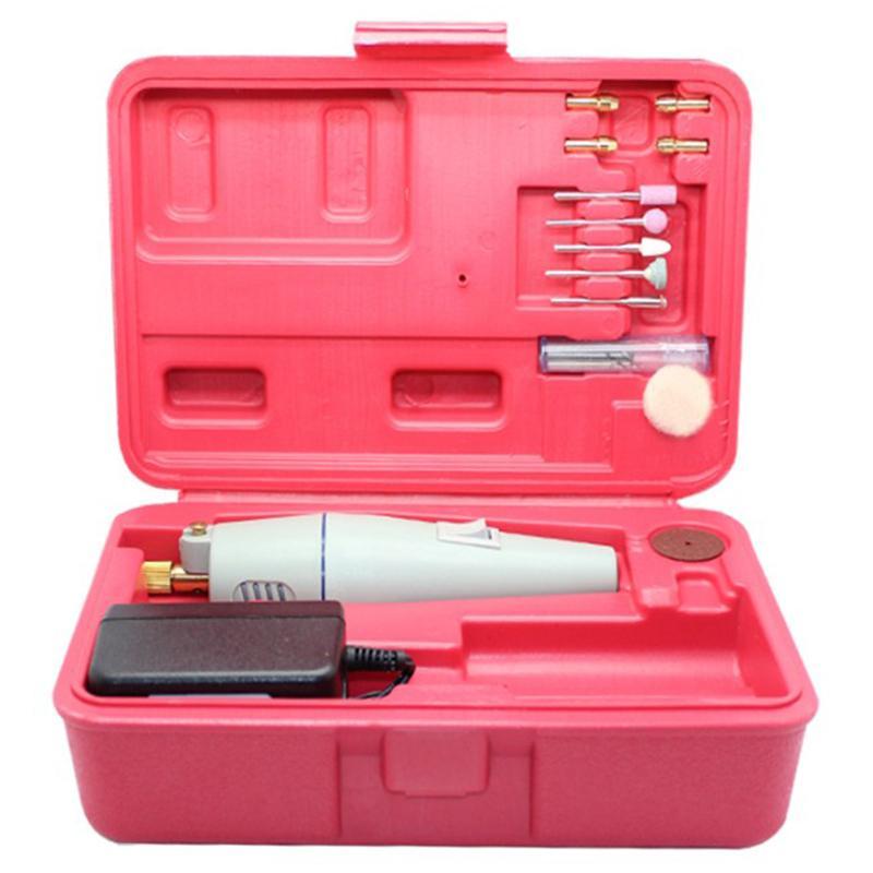 Taladro eléctrico Mini bricolaje accesorios de Afilado de Herramientas eléctrico amoladora pluma del grabado grano US Plug