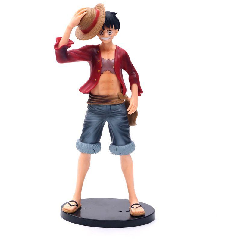 27cm Yüksek Kalite Oyuncak Luffy PVC İçin Çocuk En Hediyeleri çocuklar yetişkin hediyeler Eylem Koleksiyon Model Oyuncaklar Doğum Hediyeler Ücretsiz Kargo Figures