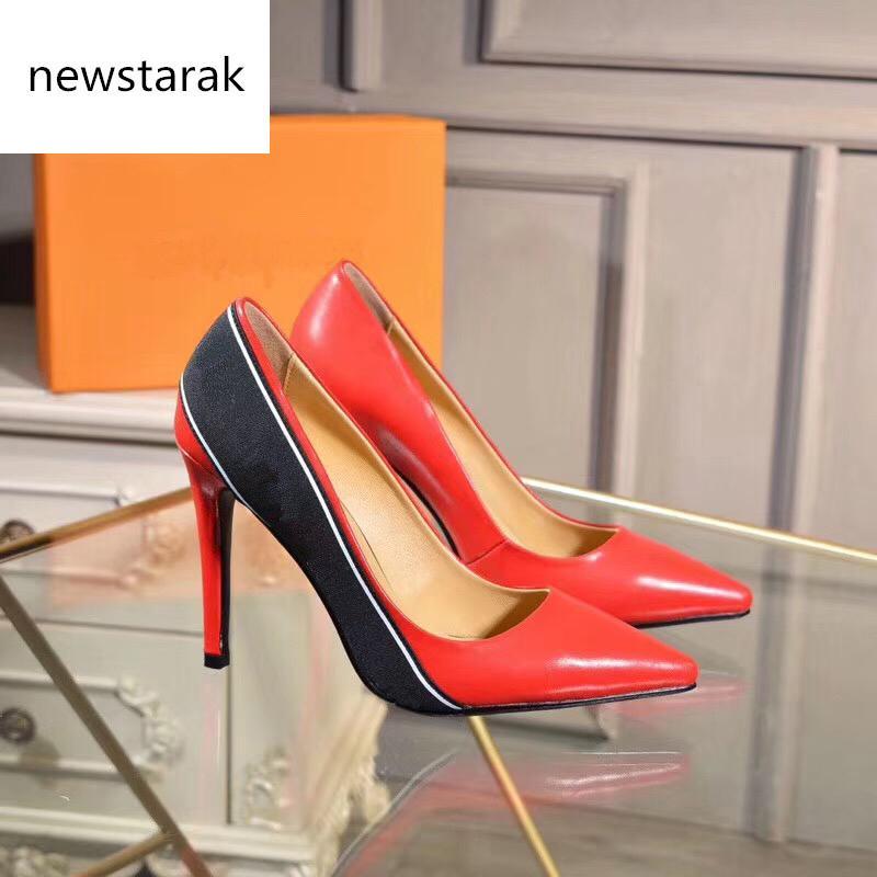 2019 En popüler tasarımcı yüksek topuklu kadın moda dipleri platformu takozlar sandalet elbise ayakkabı pompa