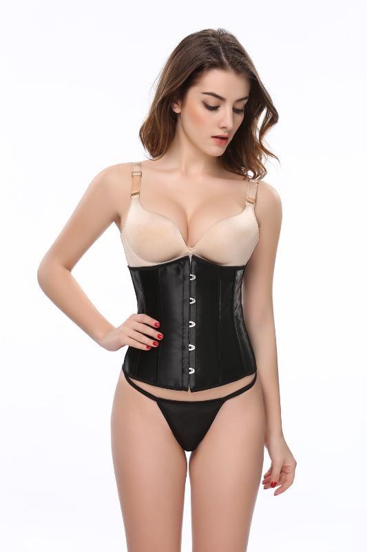 Underbust gotico corsetto delle donne e di Cincher della vita Bustini Top Workout Forma del corpo della cinghia della biancheria sexy Corsetti Top Plus Size S-6XL