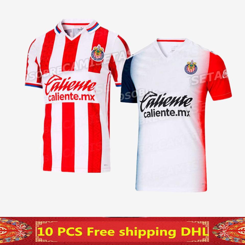 Acquista 20 21 Club Deportivo Guadalajara Soccer Jersey Casa Away 2020 2021 Guadalajara Soccer Jersey 20 21 Camicia Da Calcio Chivas A 11,58 € Dal ...