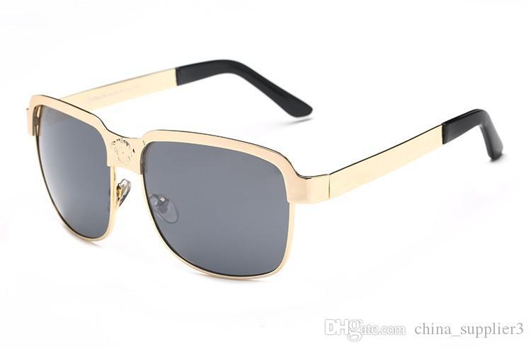 جديد تماما 8039 نظارات النساء الرجال الفاخرة مصمم خمر نظارات الشمس الإناث ظلال إطار الأزياء النظارات نظارات مجانية