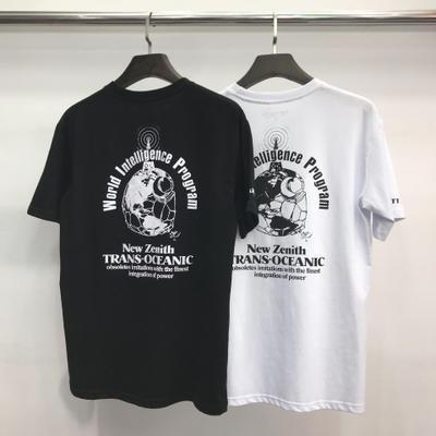 Мужские дизайнерские футболки 2020 New Tide Brand Половина рукава Письмо печати Хлопок Повседневный с коротким рукавом