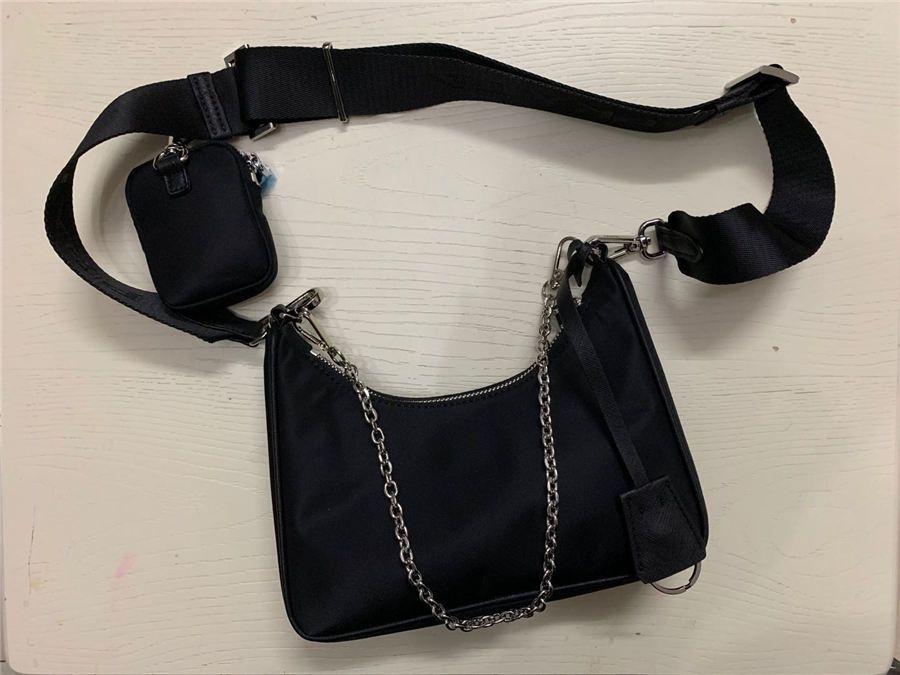 상자 2020 어깨 가방 고품질의 나일론 핸드백 베스트 셀러 지갑 여성 가방 크로스 바디 백 호보 지갑
