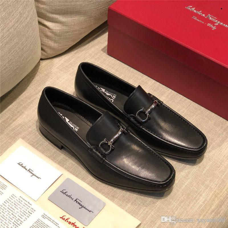 AA 16 style design formal mens dress shoes gold leather luxury leather wedding shoes men loafers office for male