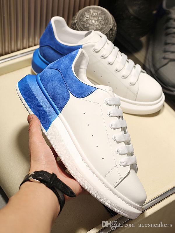 Blanc avec le designer dos couleur Chaussures Top qualité statique baskets luxe OVERSIZED cuir véritable des hommes pour les femmes 3M réfléchissantes Chaussures Casual Noir
