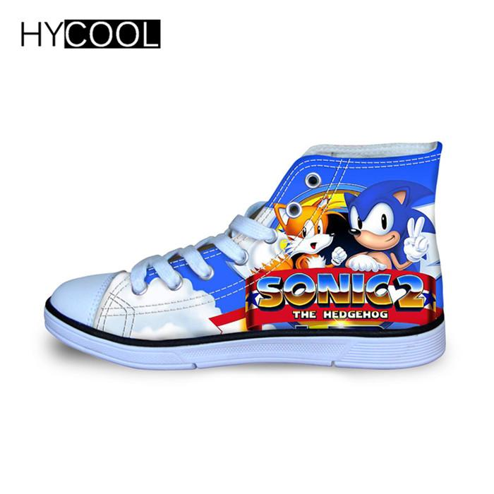 2020 Children Running Shoes For Kids Boys Sonic The Hedgehog Sneakers Outdoor Sports Shoes High Top Canvas Toddler Child From Nikehome2020 76 72 Dhgate Com