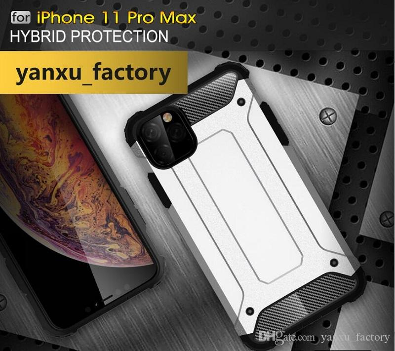 Steel Armor Full Anti-konck Defender Robot Hard TPU+PC Cover Case For iPhone SE 2020 11 Pro Max XS XR MAX X 8 7 6 6S Plus