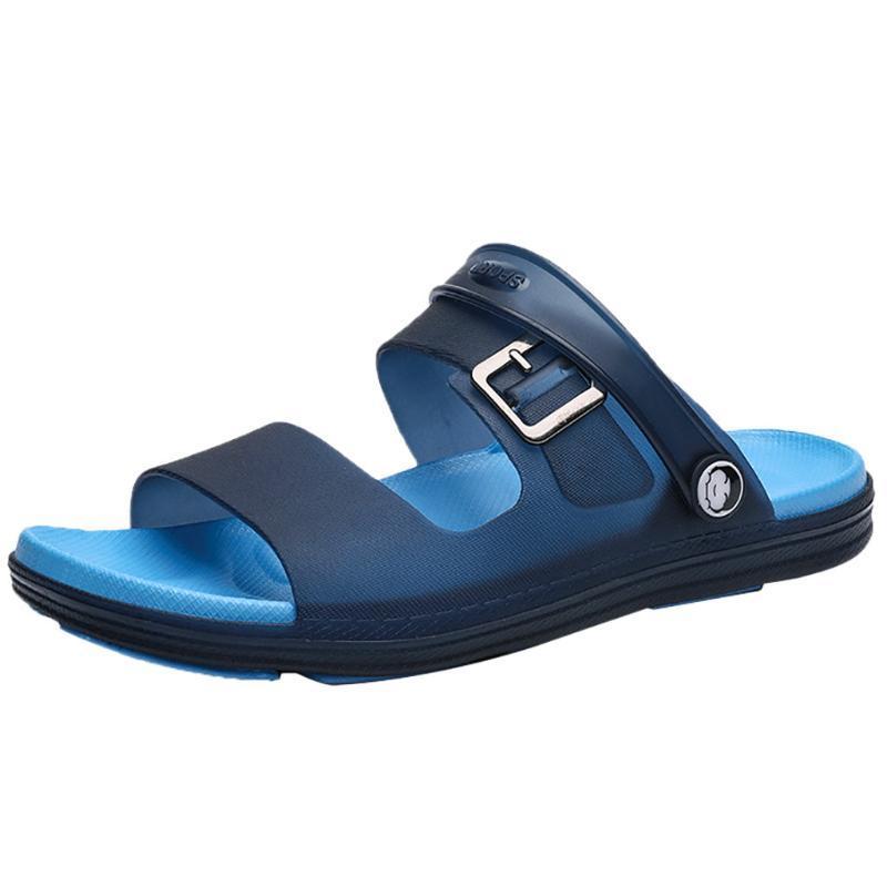 Тапочки Sagace Летние Шлепанцы для мужчин Полые пляжные Сандалии Мужской 2021 Повседневная Запатос Hombre