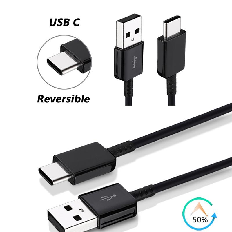 For S8 C9 A7/5 HIGH Quality Type C Cable 1.2m Data With good Charging USB Data Sync pack Braided roll way