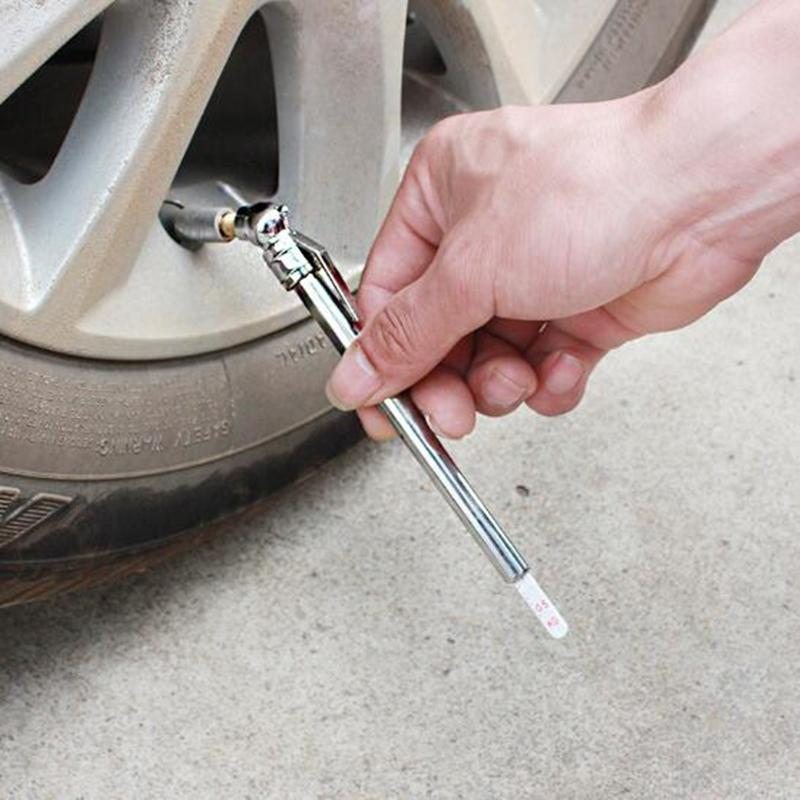 المحمولة قياس ضغط الهواء في الإطارات سيارة مركبة نارية الإطارات اختبار متر القلم psi أدوات التشخيص