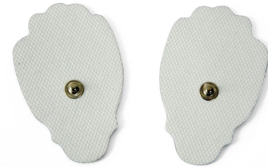 TENS Electrode Pads Pad de remplacement réutilisable pour unité TENS Digital Digital Pulse Massager