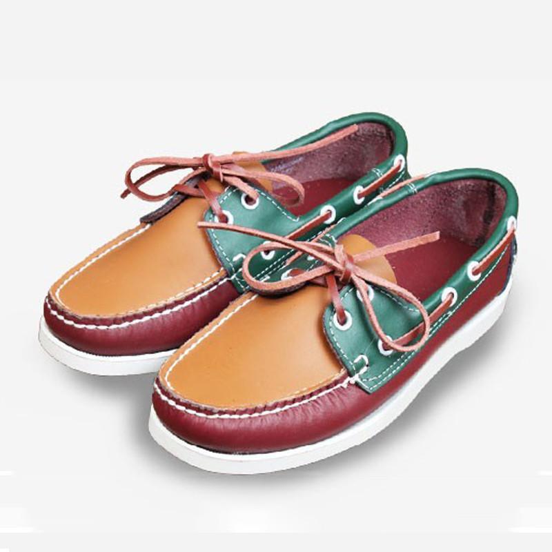 Männer Loafers 2020 Frühlings-Sommer-Mann-beiläufige Schuh-Leder-Jugend-Schuhe Herren atmungsaktiv Fashion Flache Schuhe 5 # 21 / 20D50