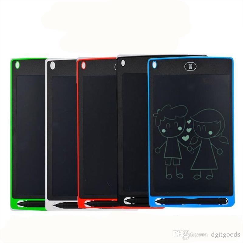 Portátil Smart LCD escrita Tablet 8.5 / 10/12 4,4 polegadas Escritor Desenho Digital Handwriting Pads eletrônico para mensagem