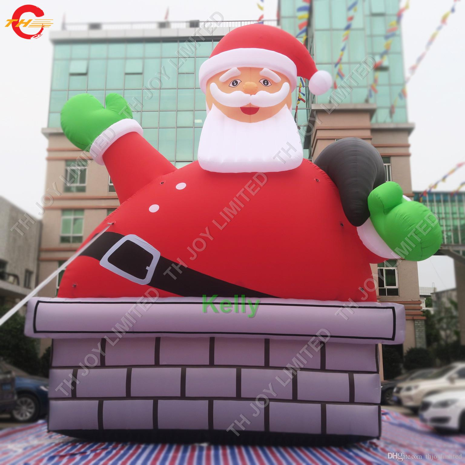2020 9m 30ft Large Outdoor Christmas Decorations Inflatable Santa Claus For Sale Giant Inflatable Standing Santa Claus Figure From Thjoylimited 904 53 Dhgate Com