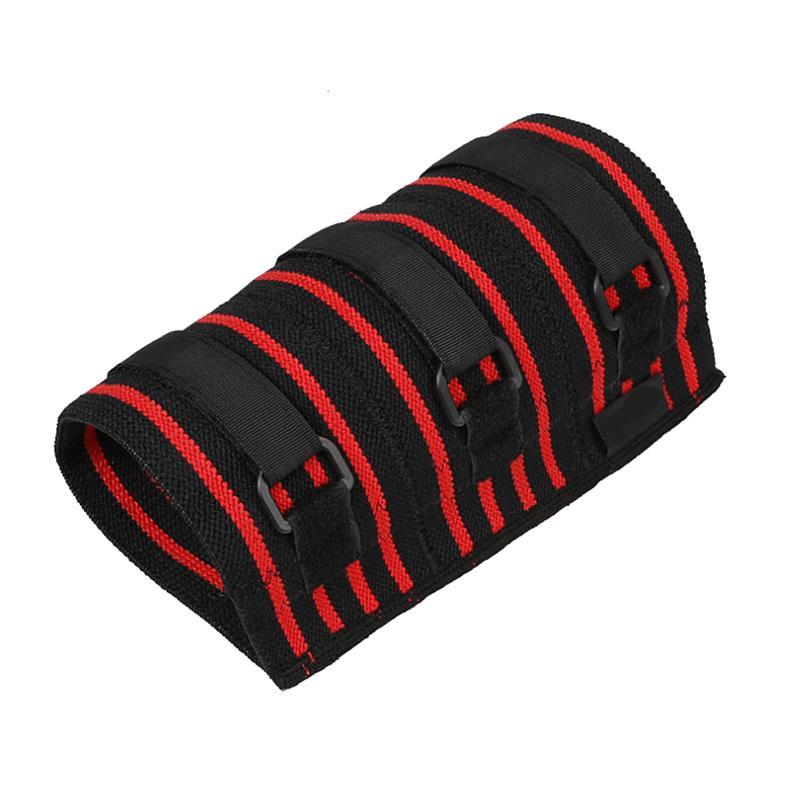 Compresseur de support de manche de coude réglable pour Powerlifting Bodybuilding Bodybuilding Crossfit Pad Protecteur de coude