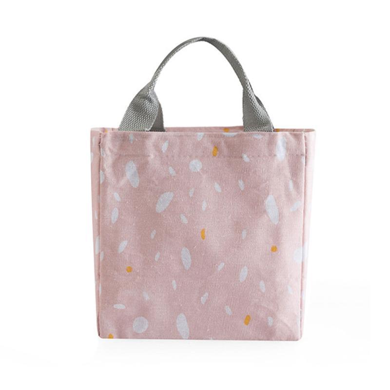 Viaggi bagagli Tote di lavoro coulisse sacchetto del pranzo pic-nic all'aperto Studenti stampato dispositivo di raffreddamento isolato portatili Bento Box adulti