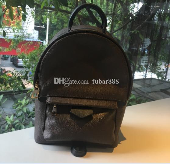 Grátis SHPPING! Mini mochila feminina crianças mochilas mulheres impressão de couro mini mochila 41560 Puef