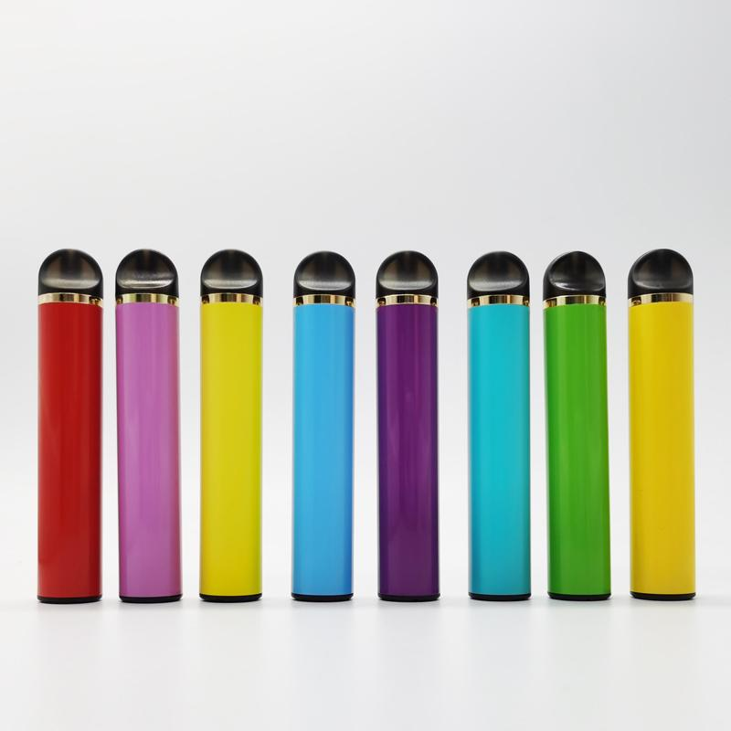 Kutu Custom Made in boşaltın Packaging ile tek kullanımlık cihaz Vape Kalemler 5ml Bakla 650mAh Pil Başlangıç Setleri Vaporizer Kalemler E Sigaralar Setleri