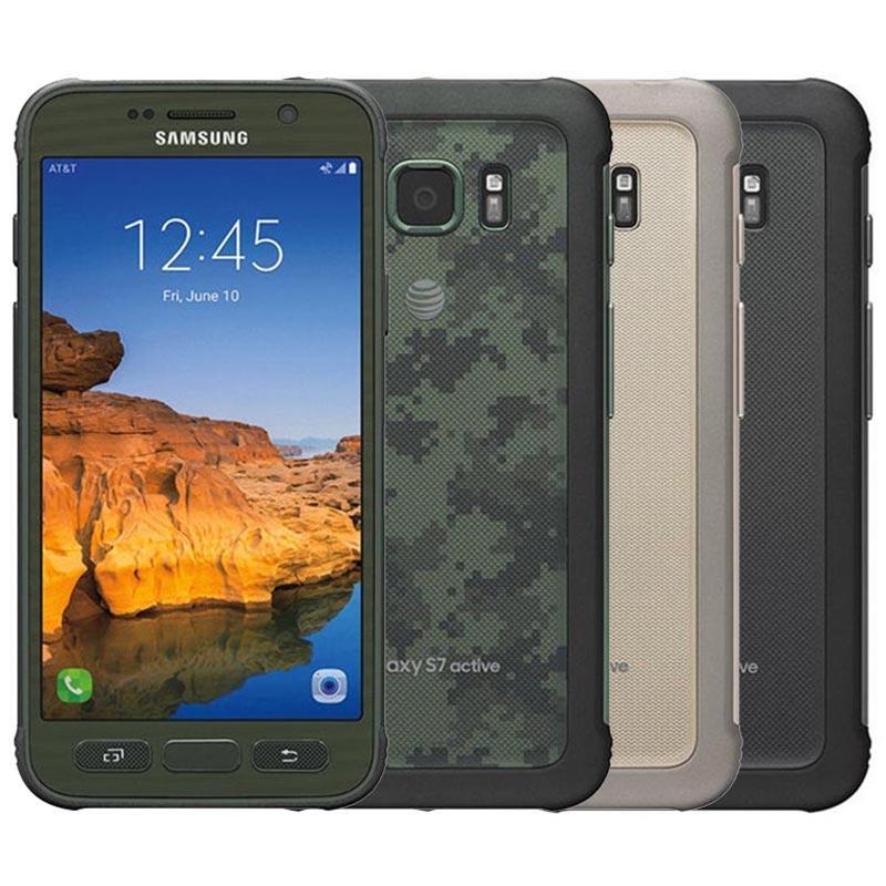 "Refurbished Original Samsung Galaxy S7 Active G891A Rugged Outdoor 5.1"" Quad Core 4GB RAM 32GB ROM 12MP Unlocked Smart Phone Free DHL 5pcs"