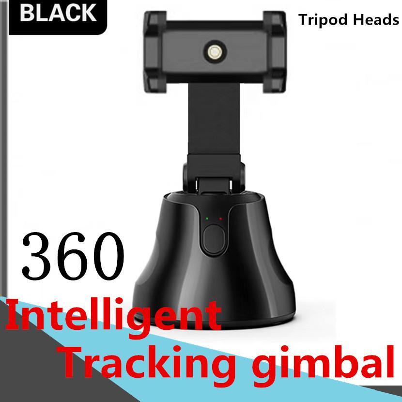 Objektverfolgung Halter Stativköpfe 360 ° Intelligent Follow-up-PTZ-Smart-Tracking-Gimbal-Bluetooth-Verbindung FacePanoramic Tracking-Schwenker