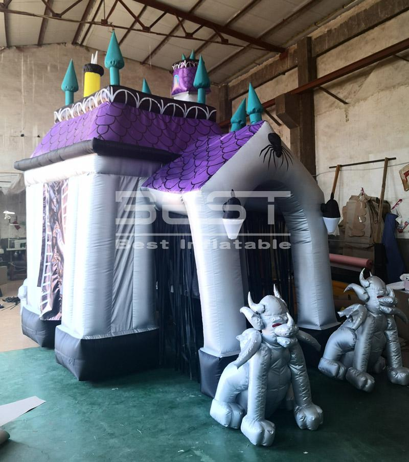 2020 New inflatable haunted house decoration,haunted house inflatable for halloween , halloween inflatable haunted house for sale