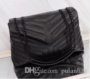 Bolsas Clássicas V Forma Flaps Chain Bag Designer Handbags de Alta Qualidade Mulheres Bolsa de Ombro Bolsa de Embreagem Mensageiro Compras Bolsa 31cm