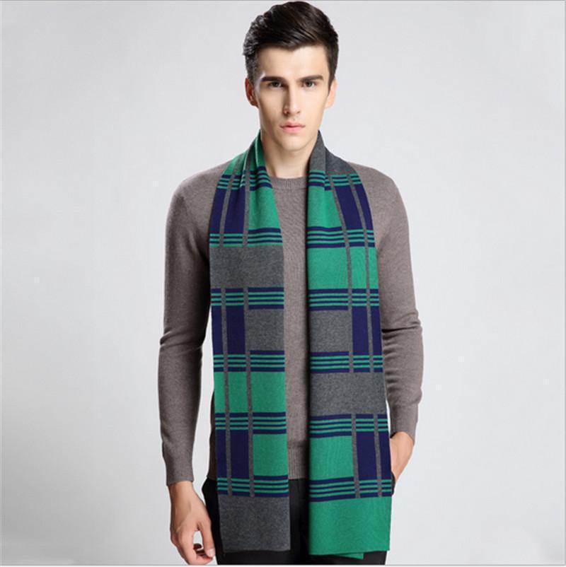 2019 Top qualtiy Imitation of cashmere brand design Scaw for men Big Size 180cm * 35cm Warp Pashmina Infinity Scarfs for menThick Shalls