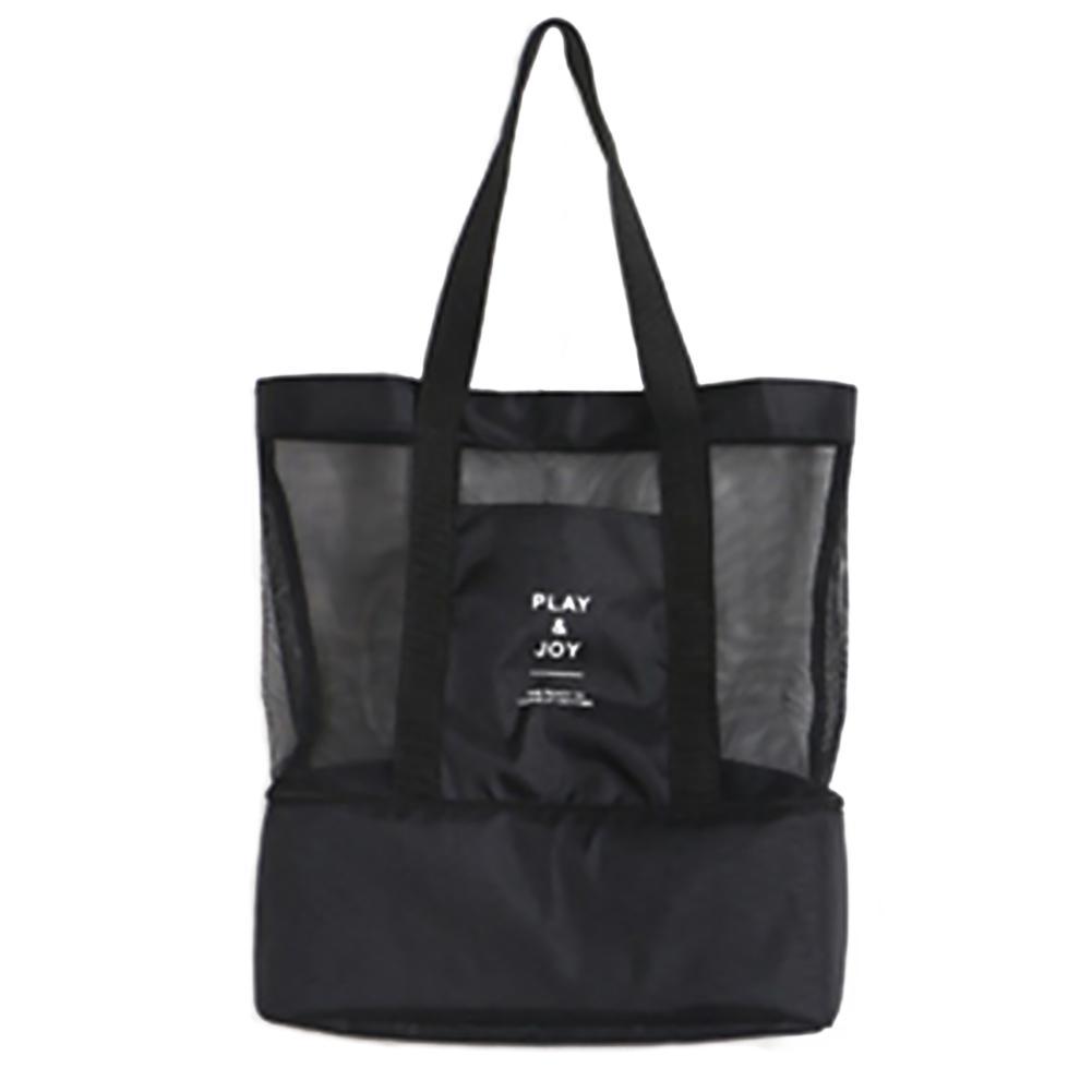 أكياس التسوق القابلة لإعادة الاستخدام الجديدة ايكو طوي حقائب اليد للماء نزهة الغداء صافي حقيبة التخزين الشراب سعة كبيرة