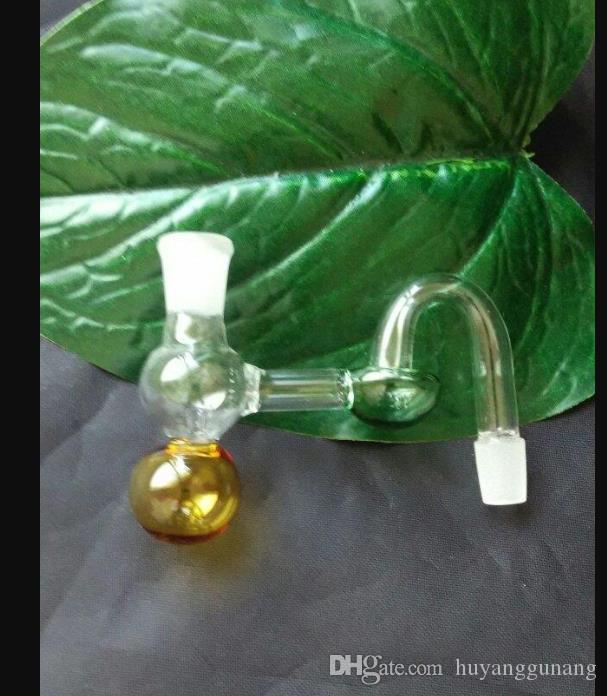Couleur pot gourde en verre bong verre en gros brûleurs à mazout en verre Tubes d'eau Fumeurs huile Rigs