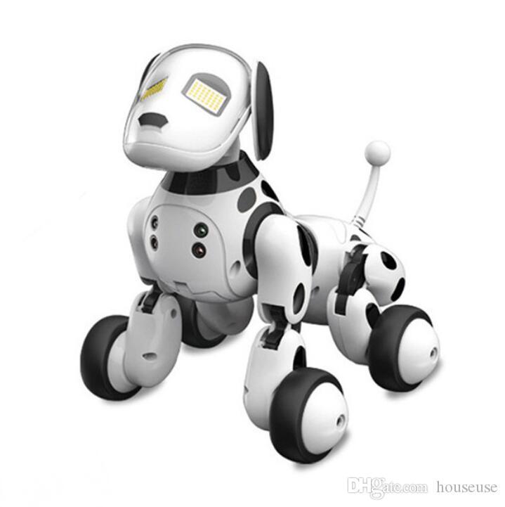 DIMEI 9007A Robot cane elettronico Pet cane intelligente giocattolo robot 2.4G Smart Wireless Talking telecomando regalo per bambini per il compleanno
