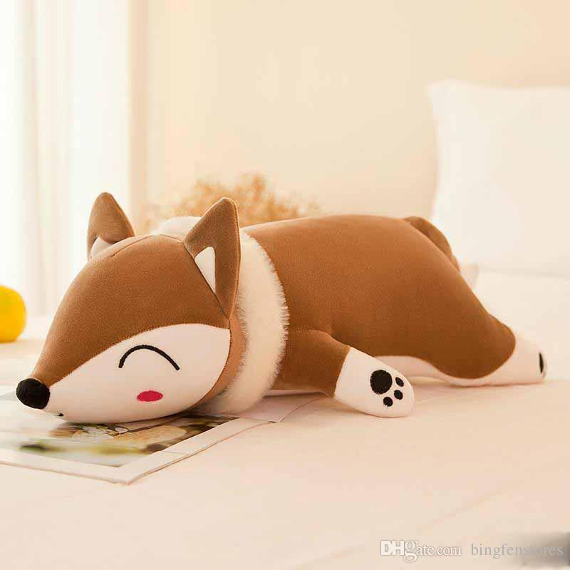 Stuffed Animals 2019 Hot 35cm Kawaii Dolls & Plush Toys for Girls Children Boys Toys Plush Pillow Fox Stuffed Animals Soft Toy Doll