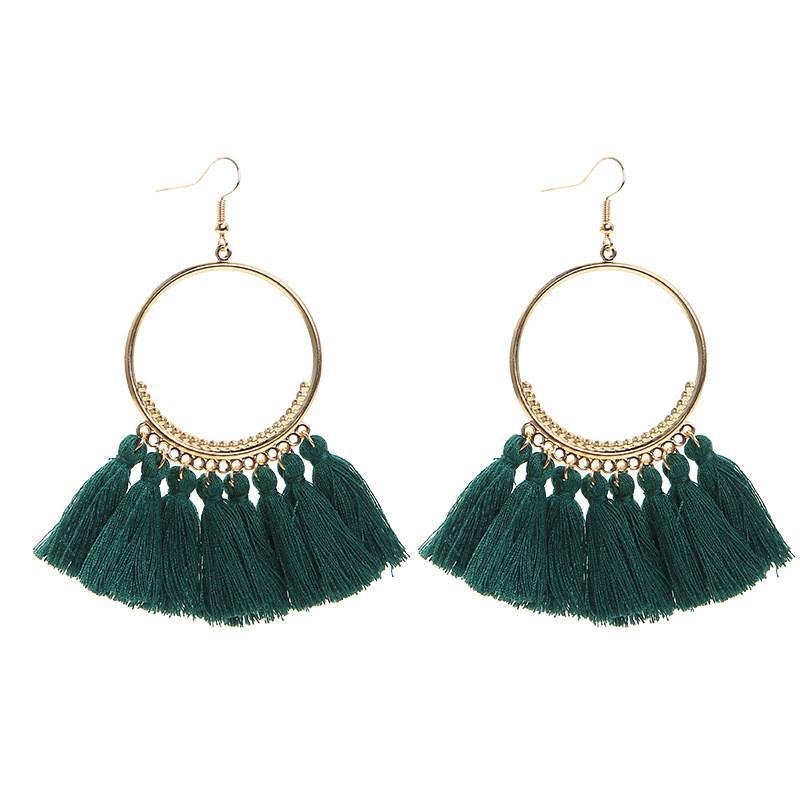 Pendientes para las mujeres 2020 joyería popular retro accesorios del pendiente grande del círculo de lujo de diseño de joyas pendiente de regalo