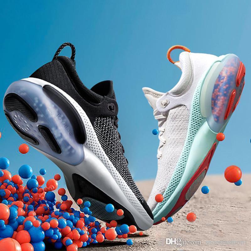 NUEVA Joyride Run FK para mujer para hombre de los zapatos corrientes Triple Negro Blanco Platino Racer deportes azul zapatillas de Utilidad Tamaño 36-45
