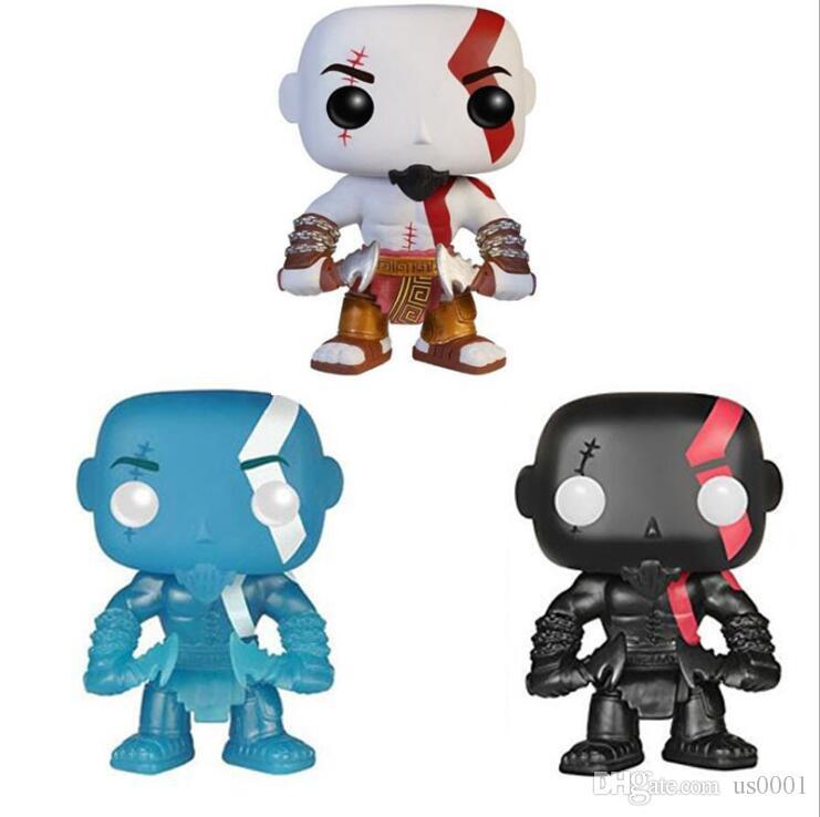 Funko POP Ares 3 Kratos Рука Управление игрушки Модель Бог войны Кратос 25 #