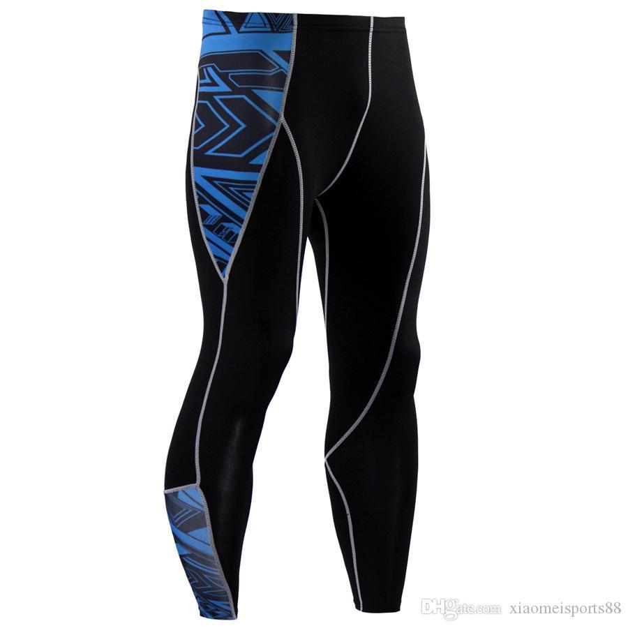 nuovi mens abbigliamento da palestra leggings allenamento stretta Leggings a vita alta senza saldatura Mesh Stitching Esecuzione abiti da donna Gym Clothes