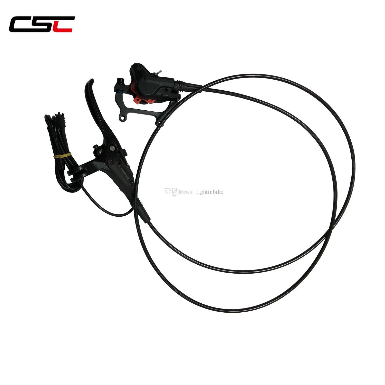 Freno de disco hidráulico CSC RM-D700c (se puede cortar la alimentación) para el control eléctrico de bicicletas ebicycle