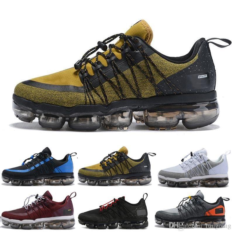 nike Vapormax air max airmax Zapatillas de running para hombre 2019 New Run UTILITY Triple White Black Burgundy Crush Men Trainers Sports Mxamropavs Designer Sneakers GH684F