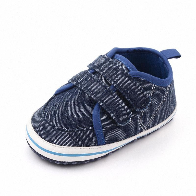 Autunno della molla nuovi neonati pattini casuali della rappezzatura di modo ragazzi del bambino primi camminatori del bambino di modo fannulloni DST #
