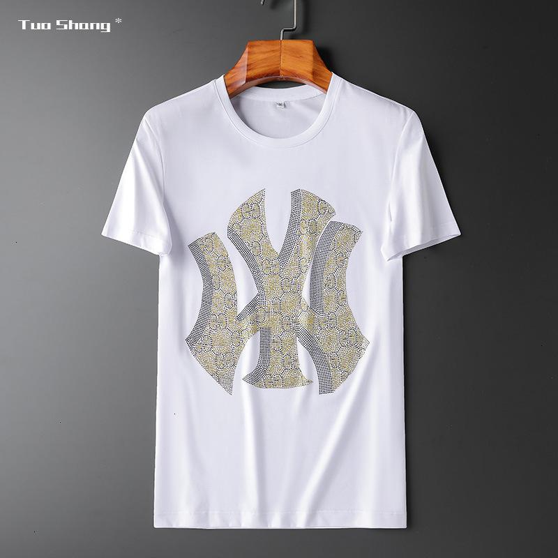 i_lucky03fashion komfortable Kurzarm-T-Shirt lässig 2020 Männer Sommer hochwertiger Rundhals T-Shirt Modekleidung 9RIKQUBZ VXXSRBSA