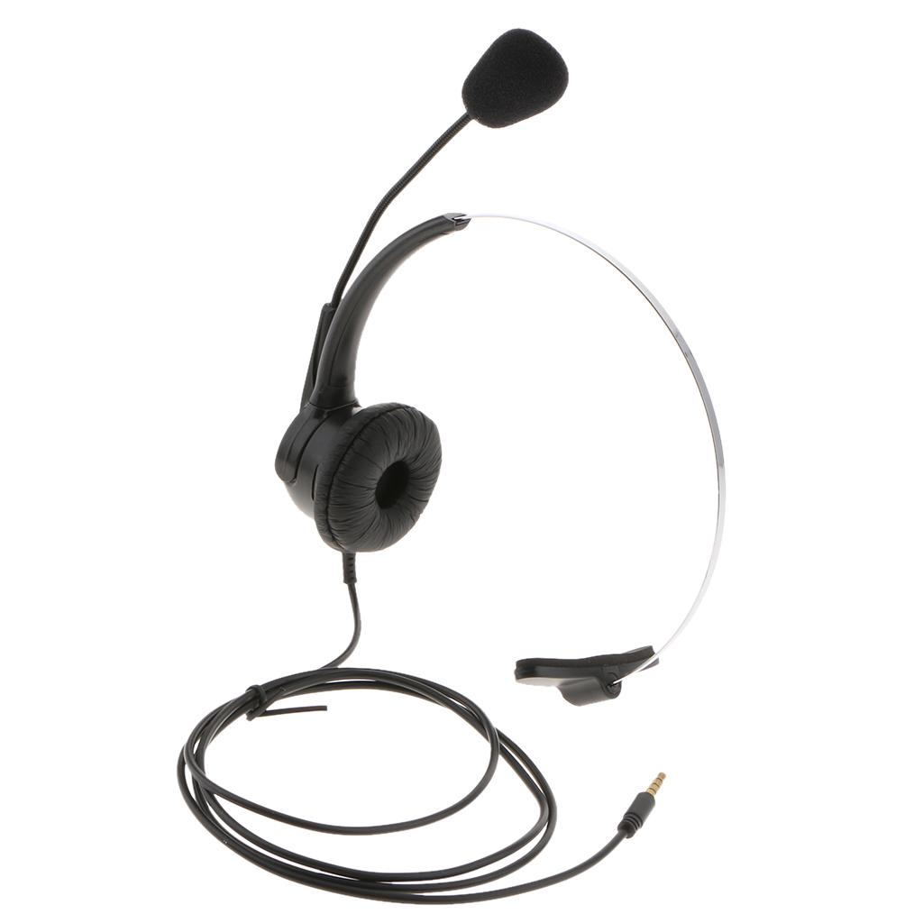 3 5mm Monaural Headset With Mic For Internet Calls Voip Communications Mobile Phone Headsets Wireless Cell Phone Headset From Segolike 9 45 Dhgate Com
