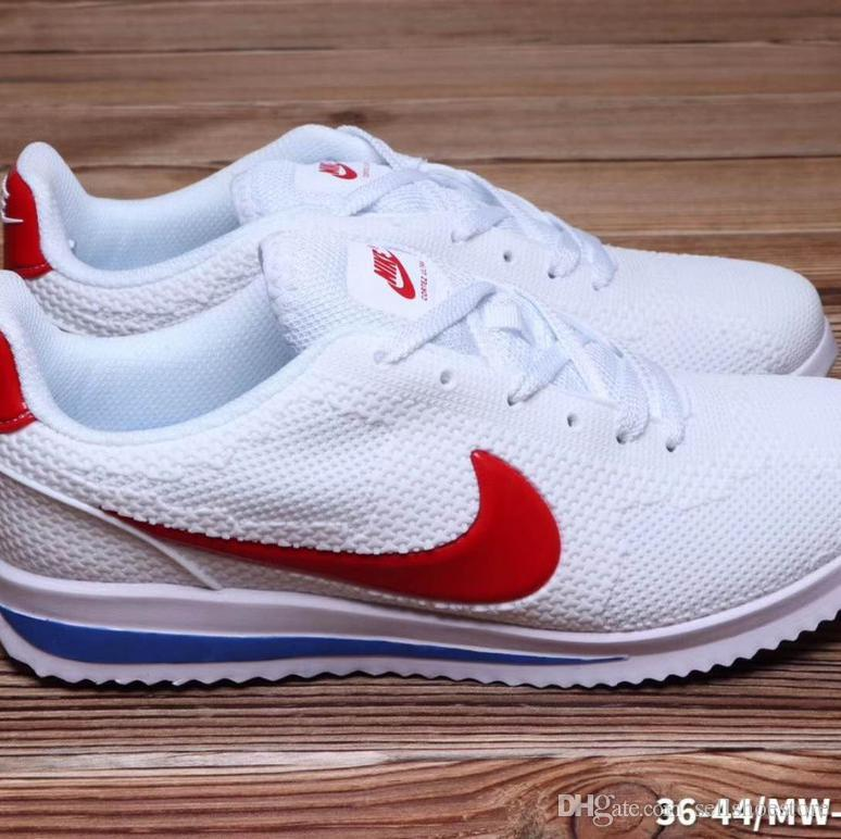 the latest b34e3 d3e0d 2019 2019 Classic Cortez ULTRA BR A Gump Nanotechnology KPU Designer Casual  Running Shoes Fashion Men Women Sneakers Forrest Gump Size 36 44 From ...