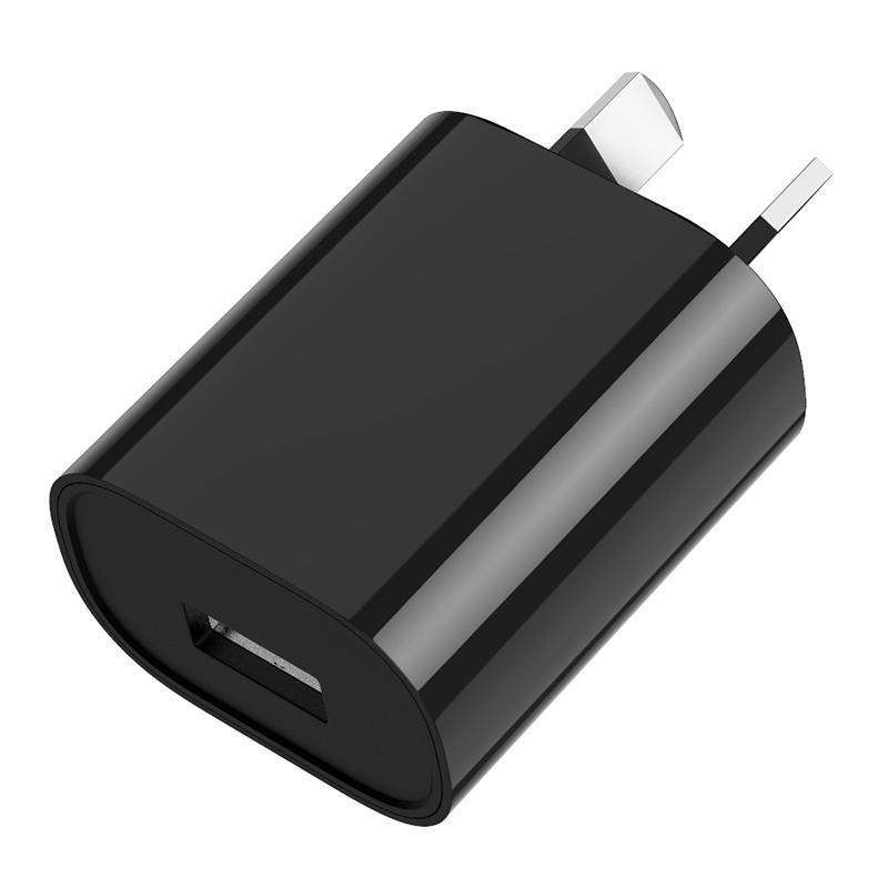 محول 500PCS 5V 1A الاتحاد الافريقي التوصيل USB AC الطاقة الرئيسية الحائط شاحن الطاقة للحصول على سامسونج غالاكسي S5 S6 حافة هواوي XIAOMI للآيفون أستراليا محول